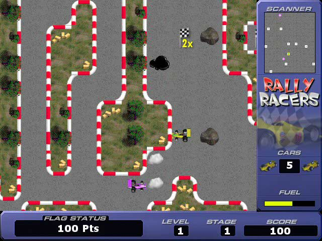 Rally Racers : Free Online Games - www.freeworldgroup.com