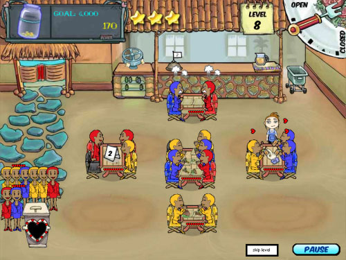 online diner games