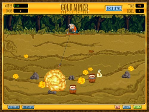 Gold Miner Special Edition Full Screen