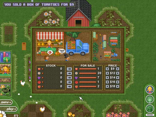 Alice greenfingers 2 walkthrough, tips, review.