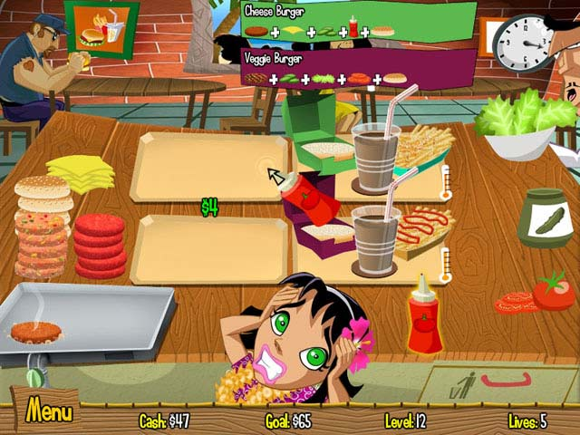 burger island online game