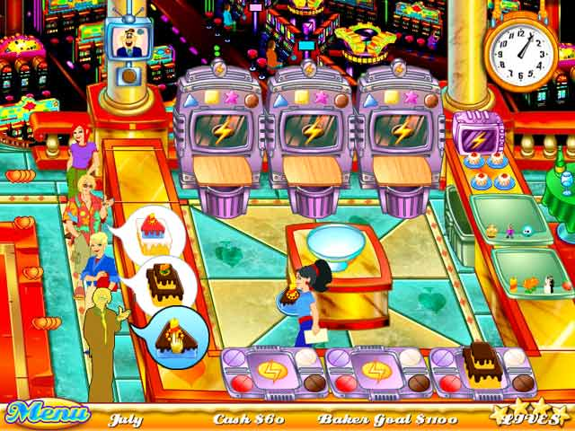 Play online Cake Mania 3
