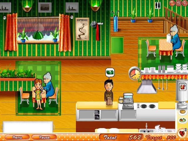 free online games restaurant