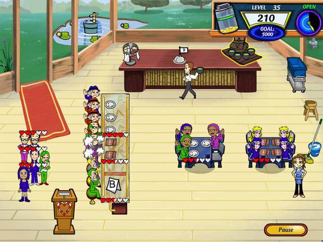 Diner Dash 2 Restaurant Rescue - Online Play online for free