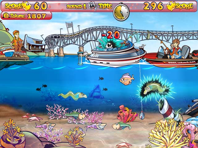 Fishing craze for Fish arcade game
