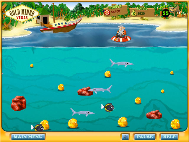 Play Gold Miner Vegas > Online Games | Big Fish