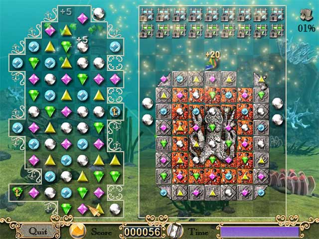 Jewel of Atlantis iPad iPhone Android Mac & PC Game