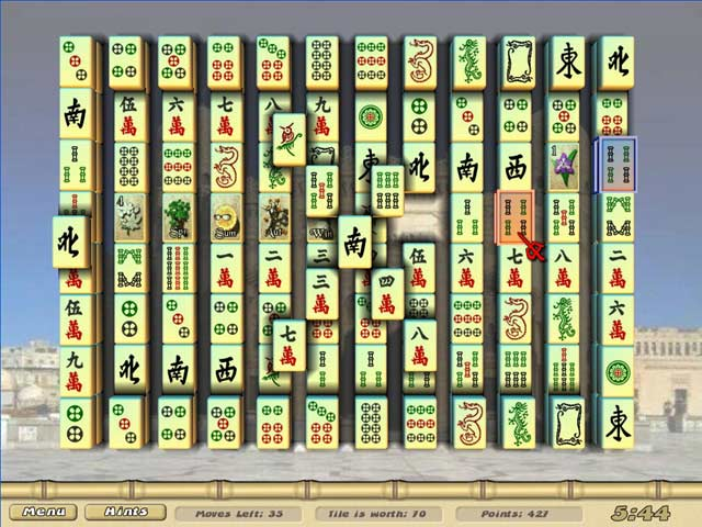 war mahjong full screen