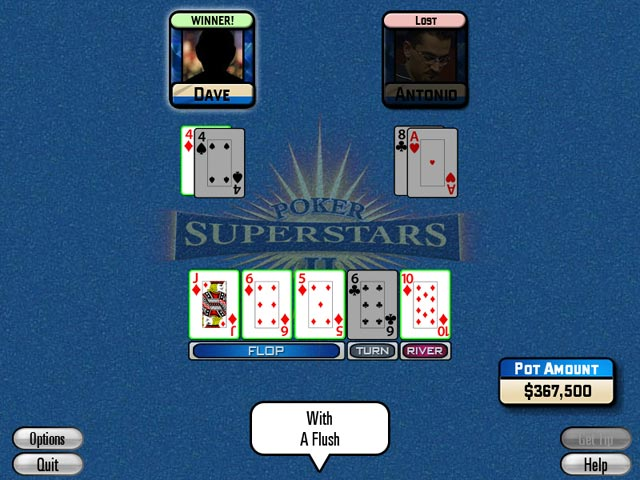 Poker Superstars II g game downloads. Click on images to enlarge