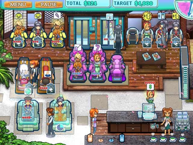 Sallys Spa Game Online