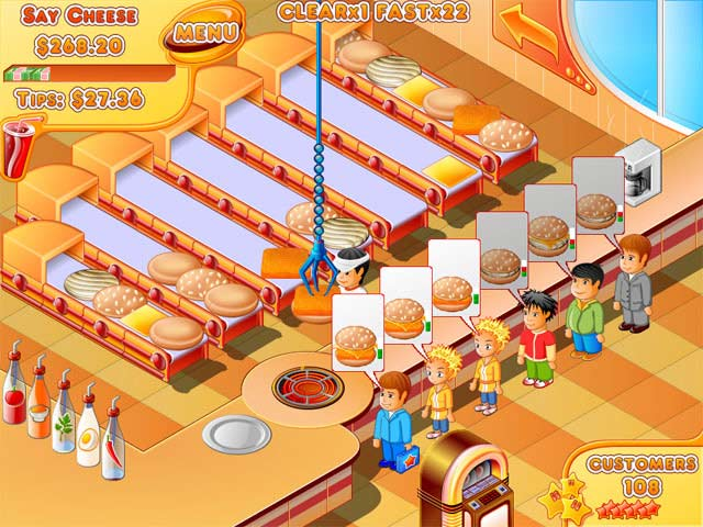 Play Fast Food Restaurant Games Online