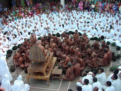 Naked Monks